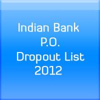 Indian-Bank-P.O.-Dropout-List-2012