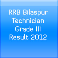RRB-Bilaspur-Technician-Grade-III-Result-2012