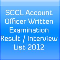 SCCL-Account-Officer-Written-Examination-Result-Interview-List-2012