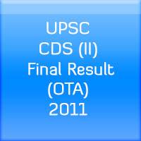 UPSC-CDS-(II)-Final-Result-(OTA)-2011