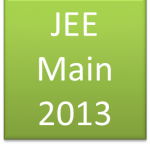 Jee Main 2013 Answer Key