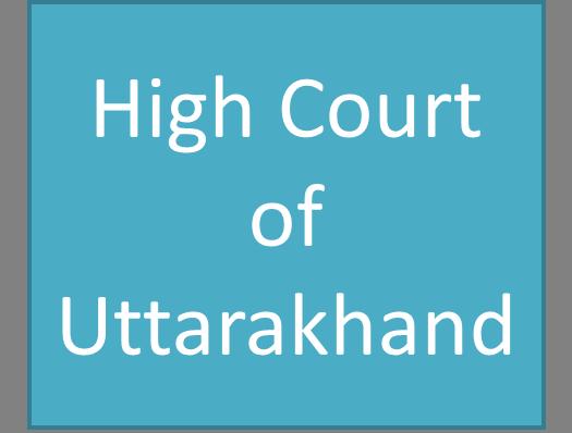 High Court of Uttarakhand Data Entry Operator Test Result 2013